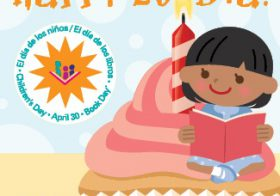 Sunland Park Community Library Gives Books to Kids for Día de los Niños